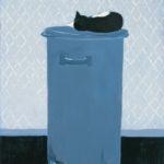 Śpiący kot, 2001
