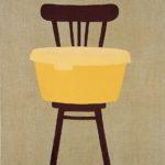 Krzesło z żółtą miską, 2004