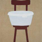 Krzesło z białą miską, 2004