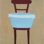 Krzesło z niebieską miską, 2004