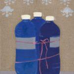 Trzy plastikowe butelki (Związane butelki), 2011