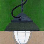 Lampa zielona z Otwartej Pracowni, 2012