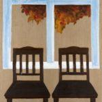 Dwa krzesła, 2016