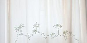 aranżacja, tkanina wyszywana, 200 × 140 cm